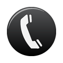 Telephone Black Icon