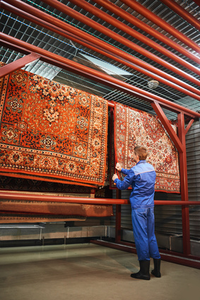 rug-restoration-in-process-in-whidbey-island-wa